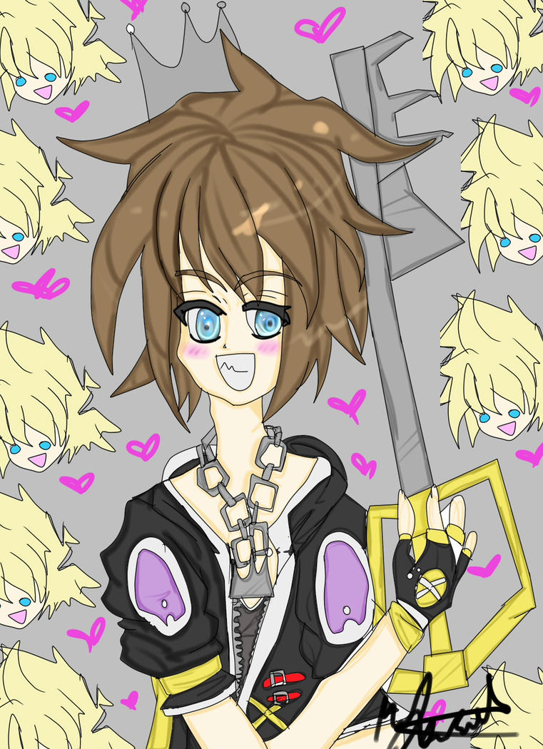 king of roxas by justaheartlessnobody