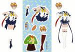 Sailor Uranus Paperdoll