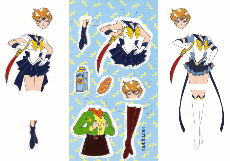 Sailor Uranus Paperdoll by xuweisen on DeviantArt