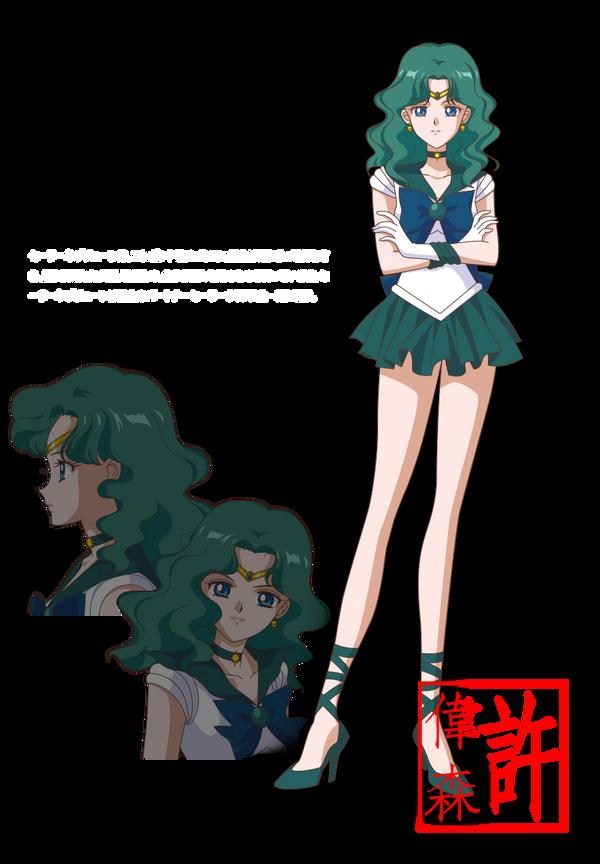 Tercer arc de Sailor Moon Crystal [INFORMACIÓ] [NOVETATS] Sailor_neptune___sailor_moon_crystal_by_xuweisen-d7qctdf