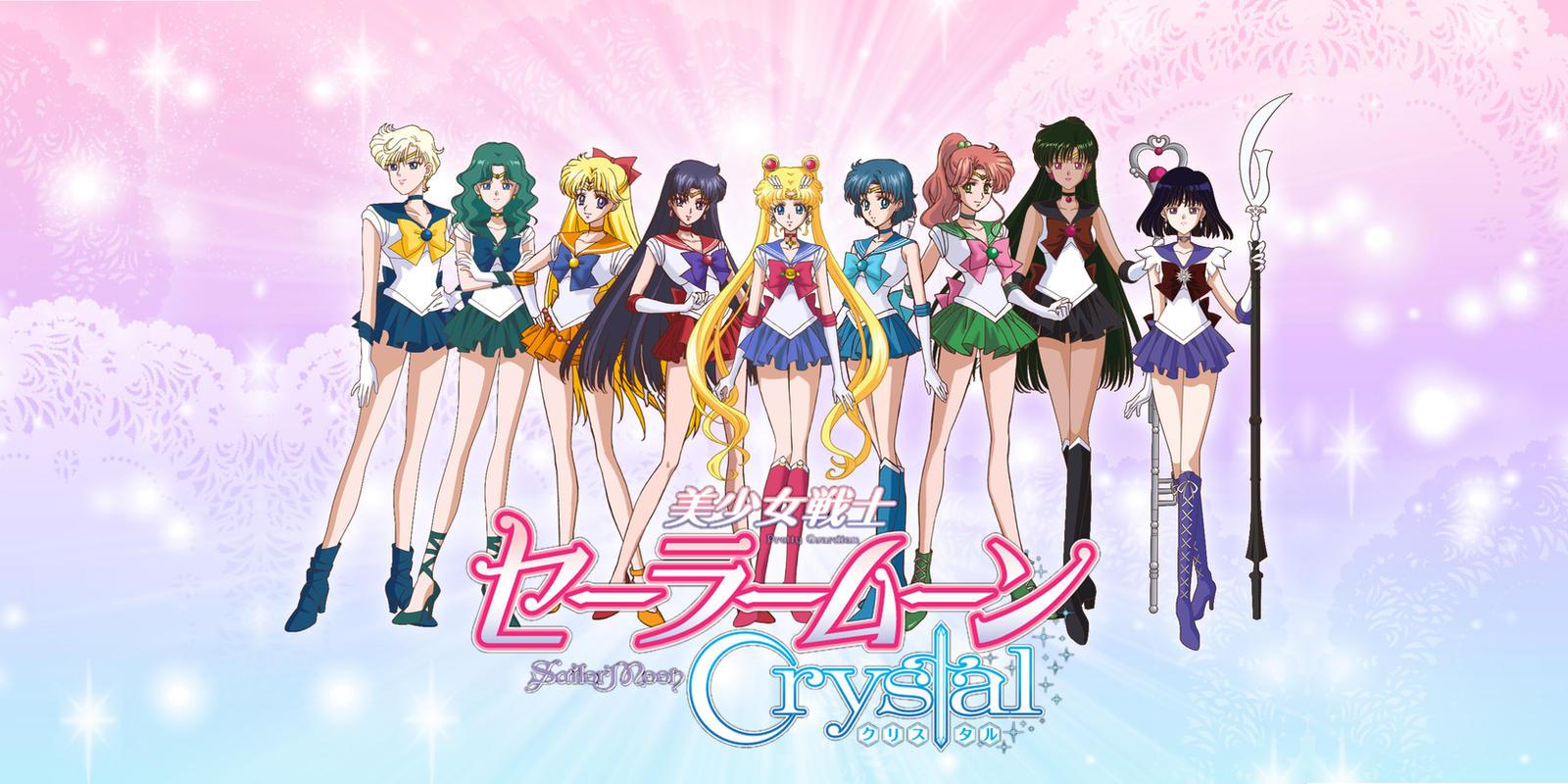 Sailor Moon Crystal Wallpaper Iii By Xuweisen On Deviantart