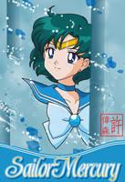 Sailor Mercury Card by xuweisen