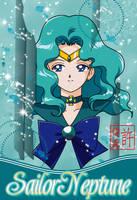 Sailor Neptune Card by xuweisen