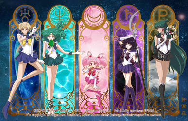 Sailor Moon Crystal (Outer Senshi) by xuweisen
