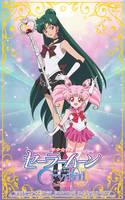 Sailor Pluto and Sailor Chibimoon - SMC Season 3 by xuweisen