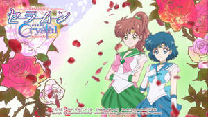 Super Sailor Jupiter - Mercury SM Crystal Season 4