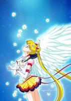 Eternal Sailor Moon by xuweisen