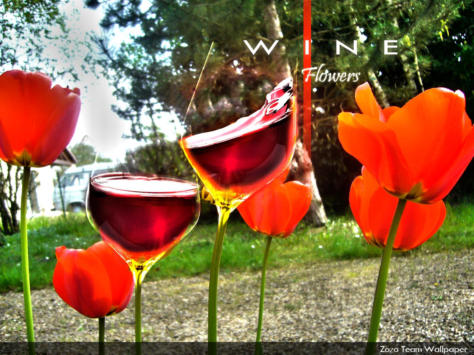 Wine Flowers