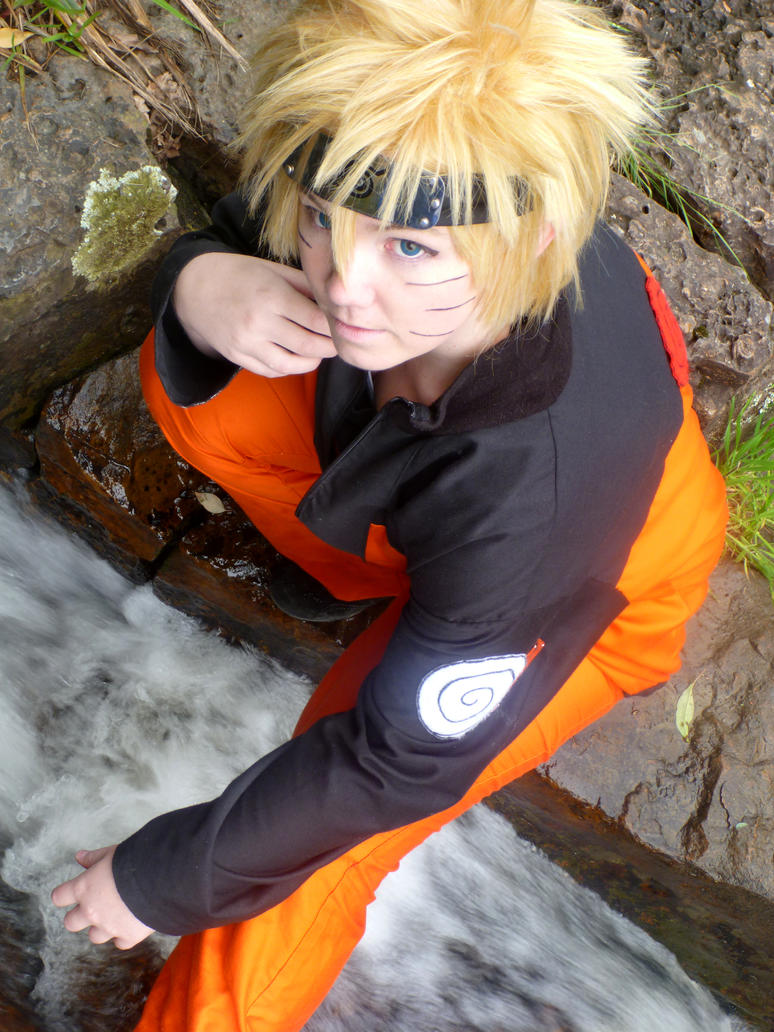 Naruto at the Rivers End by Yukino-Yoru