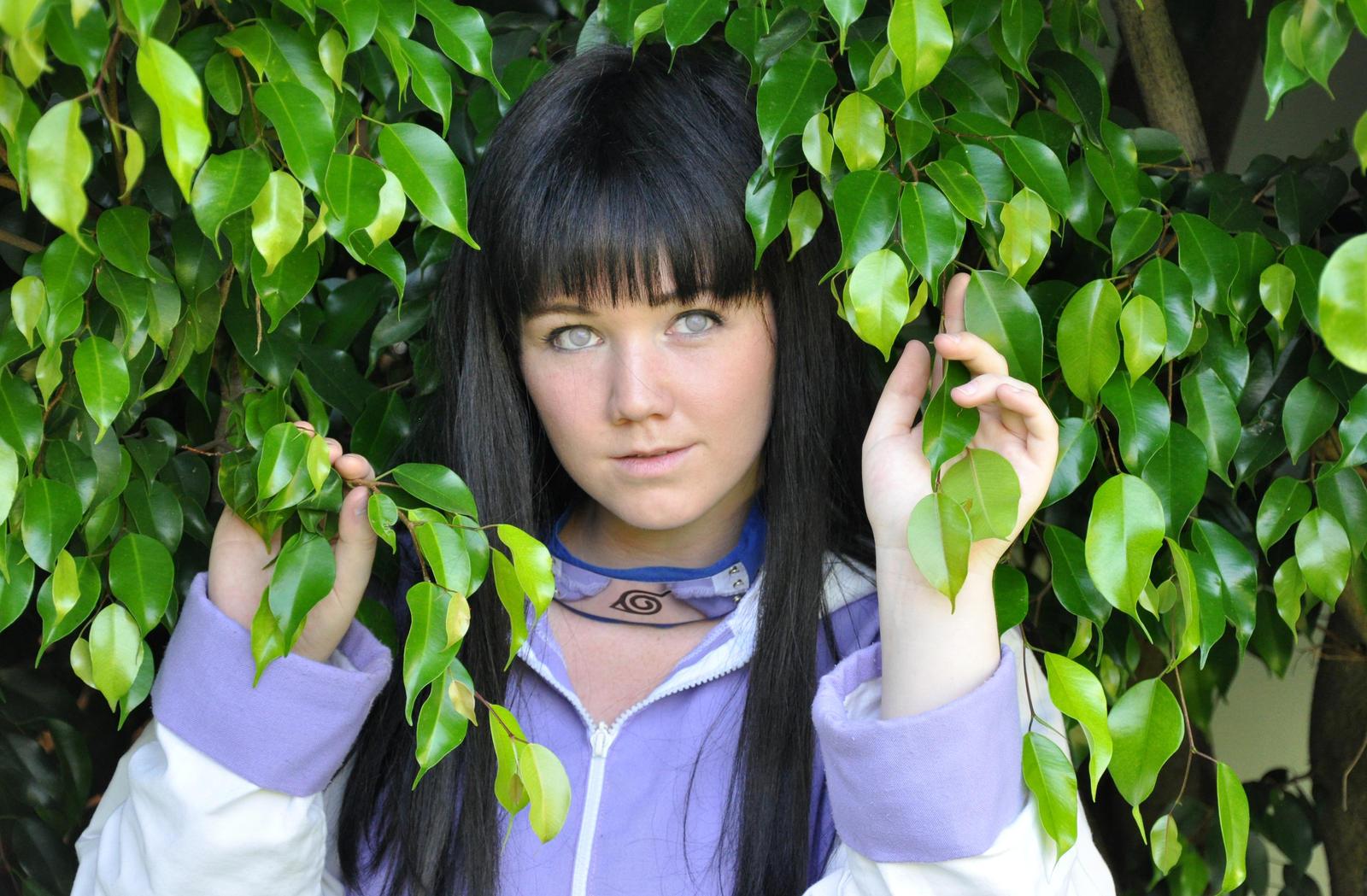 Hinata Hyuuga ~ Flower in the Tree by Yukino-Yoru