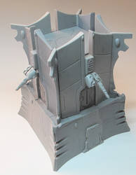 Eldar Bastion by ThereBMonsters