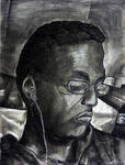Self-portrait 4 by AkinAdekile