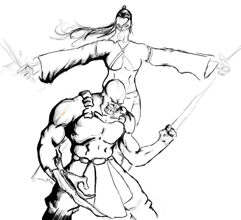 Mortal Kombat Online - Fan Submission - School Labs 2 - Page 1