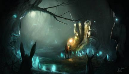 Ancient Woods by AkinAdekile