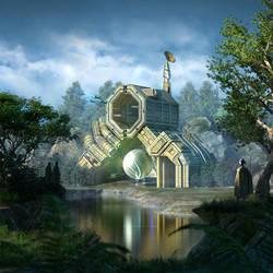 Sanctuary by AkinAdekile