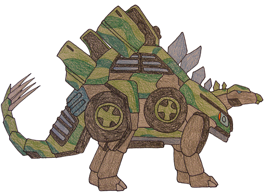 TFC Original Stegosaurus by PariahExileWrath