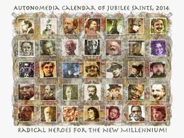 Autonomedia Calendar of Jubilee Saints, 2014