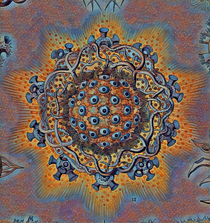 Haeckel Variation 9b by james119