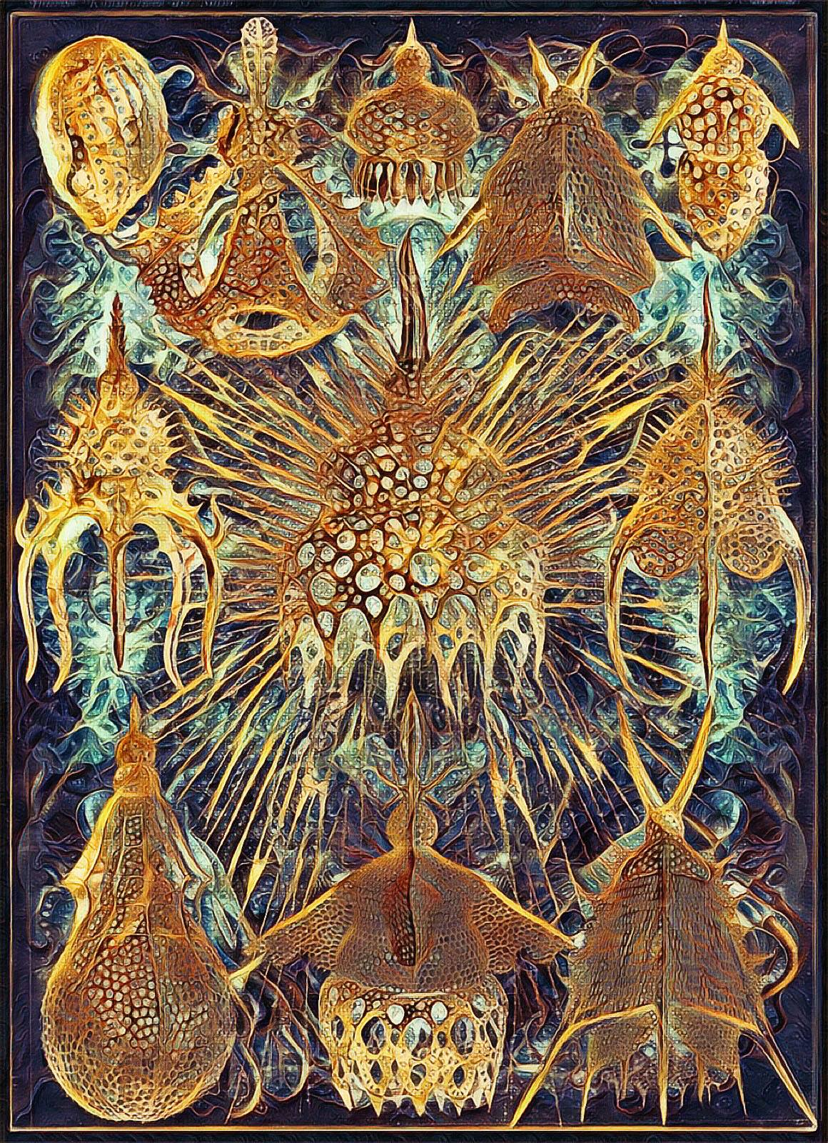 Haeckel Variation 11: The Crown Jewels of Carcosa by james119