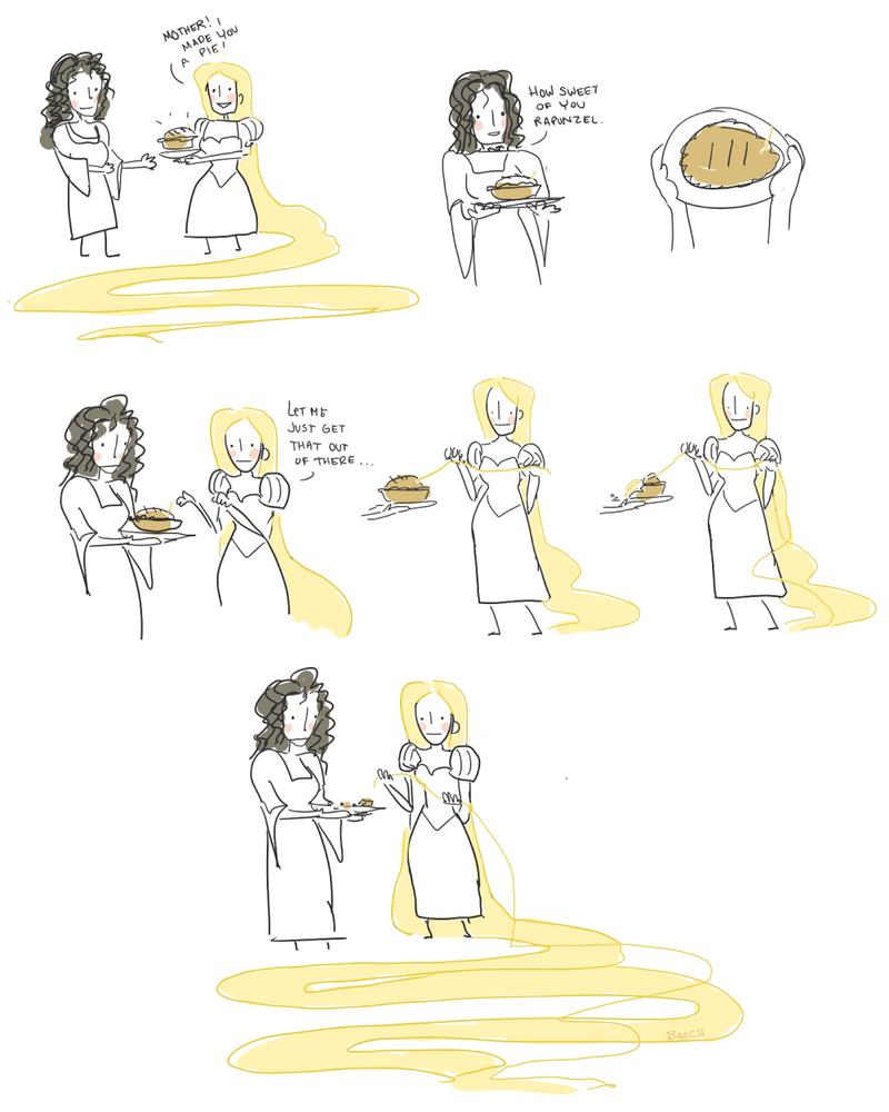 the pie maker by superbinksy