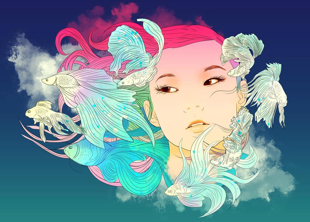 Fish Lady by arthurtribuzi