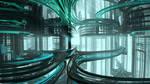 Futuristic Space Terminals