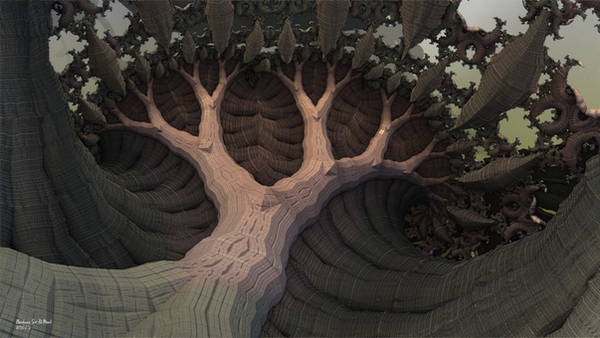Amazing Fractal Tree View's by PaMonk