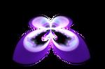 Free Fractal Mandelbrot Butterfly png_by PaMonk