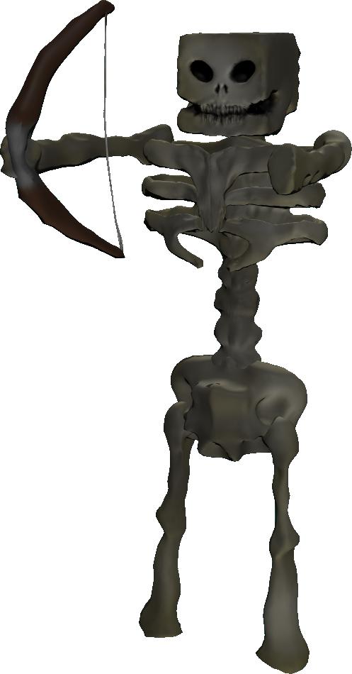Minecraft Skeleton In Real Life SkeletonReal Life Wither Skeleton