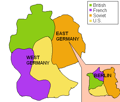 divided germany 1948 1949 by notsoaveragejoe