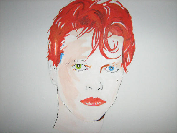 David Bowie- Scary Monsters by migeamor