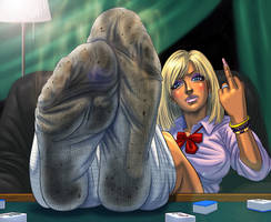 super dirty and smelly socks by Whitecloth