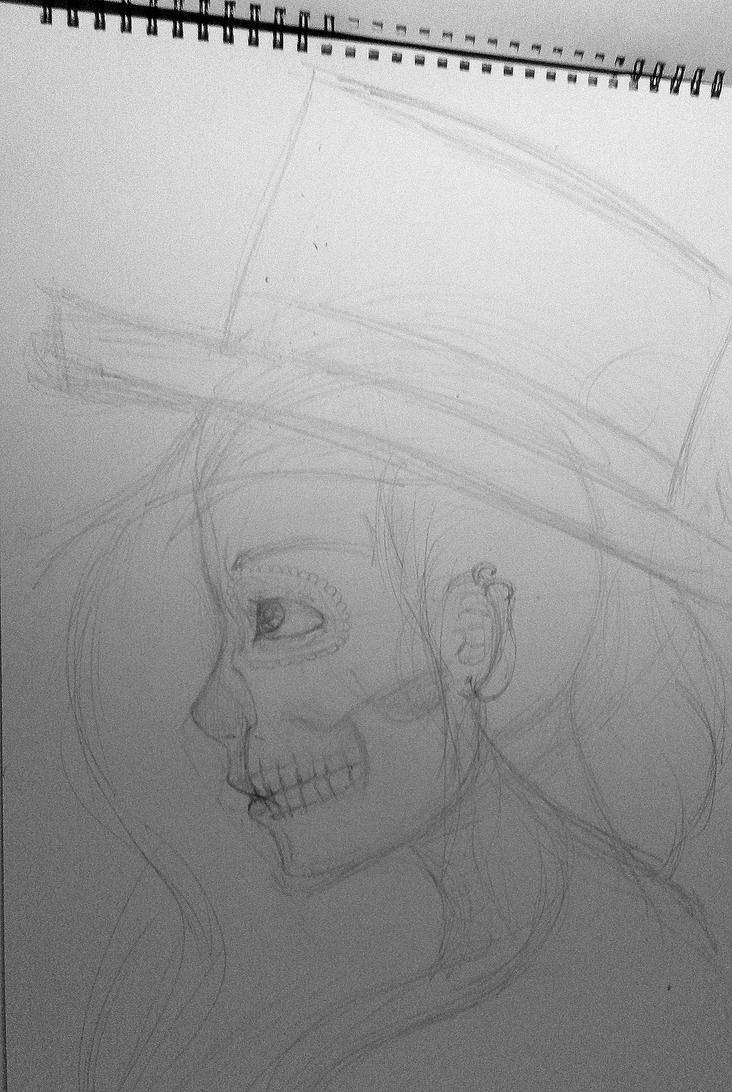 head sketch 'n stuff by sumo-strawberry