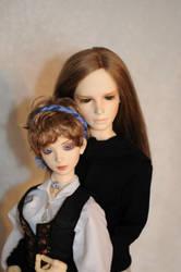 Noorah and Georg by idrilkeeps
