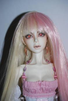 Charlotte - split wig