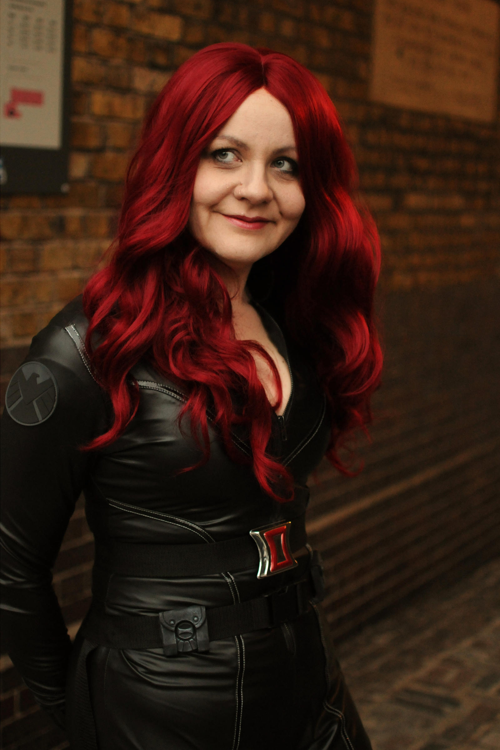 London - Black Widow cosplay