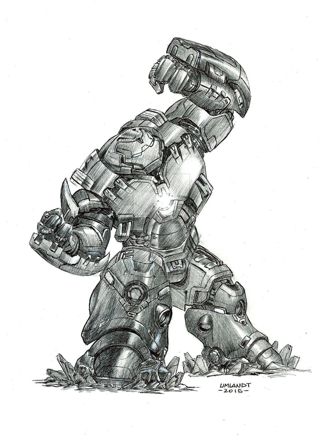 Veronica Hulkbuster birome by Flashmanya on DeviantArt