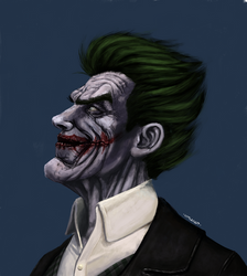 Joker by Flashmanya