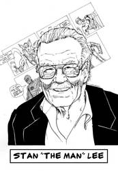 Happy Birthday Stan The man Lee by Flashmanya