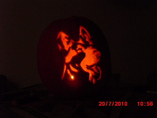 German shepherd Pumpkin 2010 by Rexbn