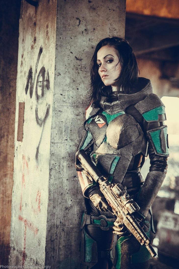 Shepard cosplay by Feyische