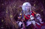 World of Warcraft (Night Elf Hunter) 2 by Feyische