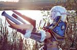 World of Warcraft (Night Elf Hunter) 5 by Feyische
