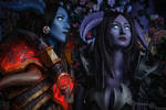 Draenei Hunters (Teir 12 and Black Dragon Mail) 3 by Feyische