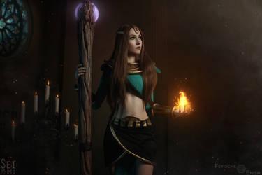 Diablo 2 - Sorceress (4) by Feyische