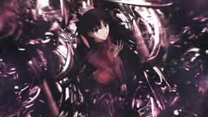 Wallpaper C4D Fate Rin Tohsaka