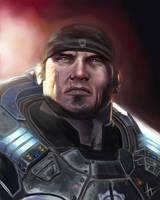 Marcus Fenix - Gears of War by hueyyeng