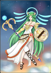 Palutena Sky by pksoldierX