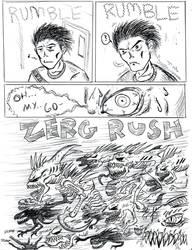 ZERG RUSH by Abelardo
