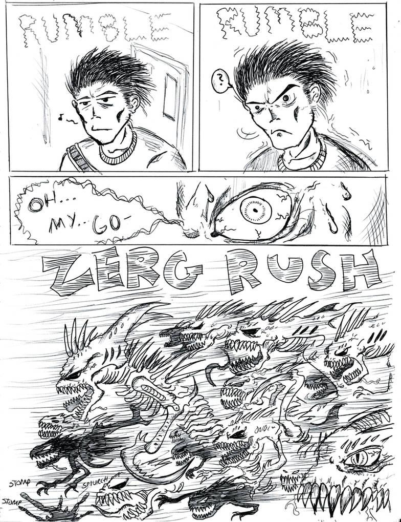 ZERG RUSH by Abelardo on DeviantArt